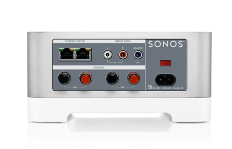 how to set up a sonos connect amp