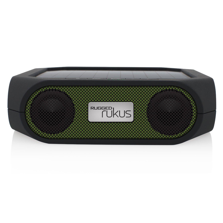 Eton Nrks200gr Rugged Rukus Portable Solar Wireless Speaker