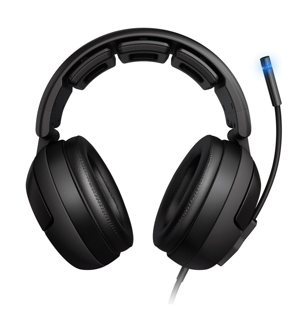 Roccat Kave Solid 5.1 Surround Sound Wired Gaming Headset - Black ...