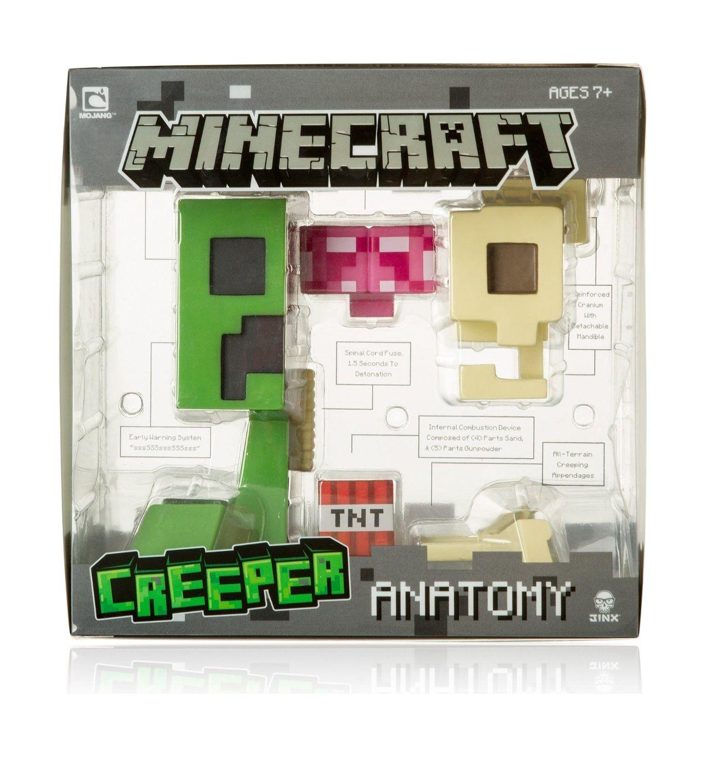 Minecraft Creeper Anatomy Deluxe Vinyl Figure Xcite Alghanim