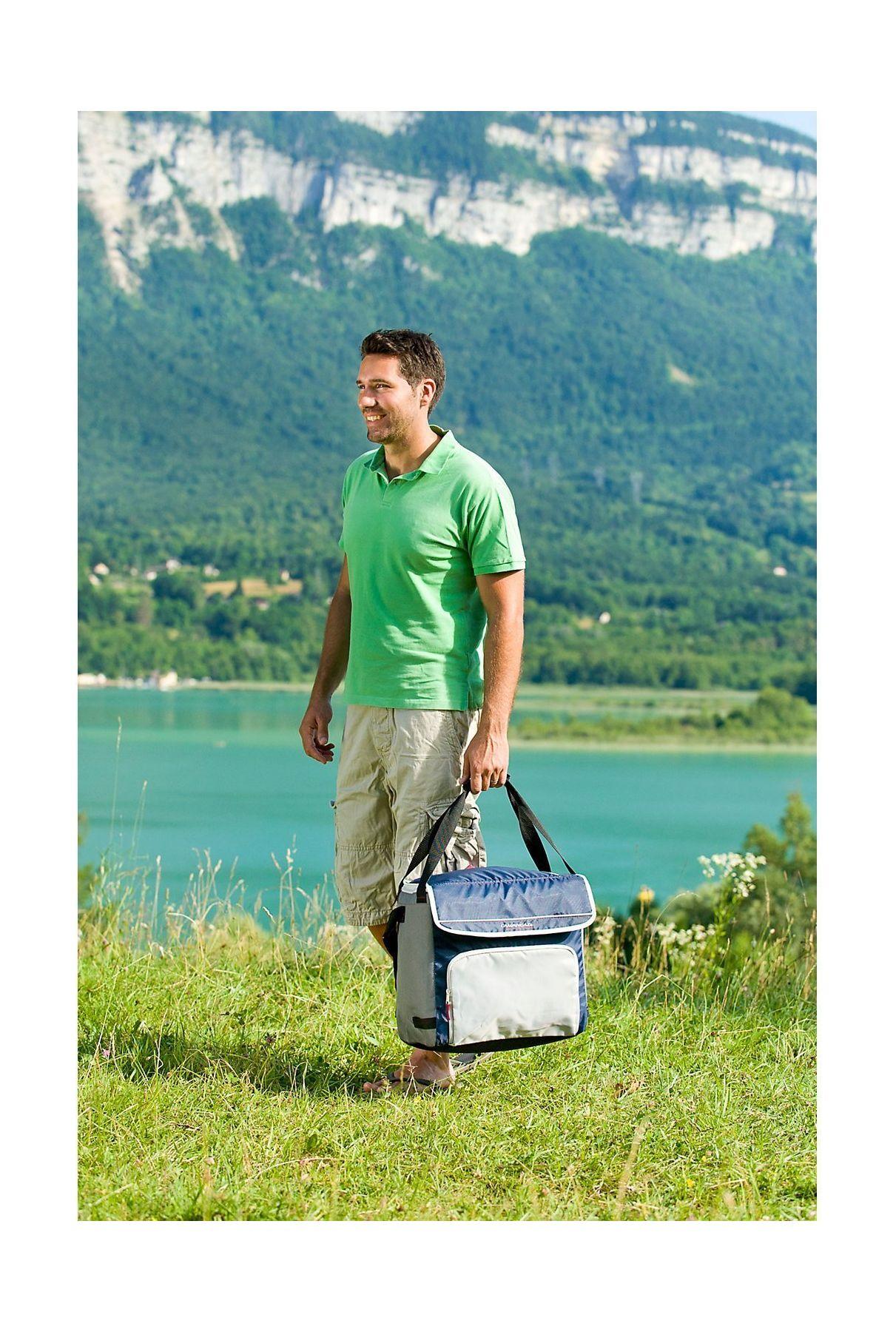 Campingaz Fold n Cool Bag - 20L - Dark Blue   Xcite Alghanim ...
