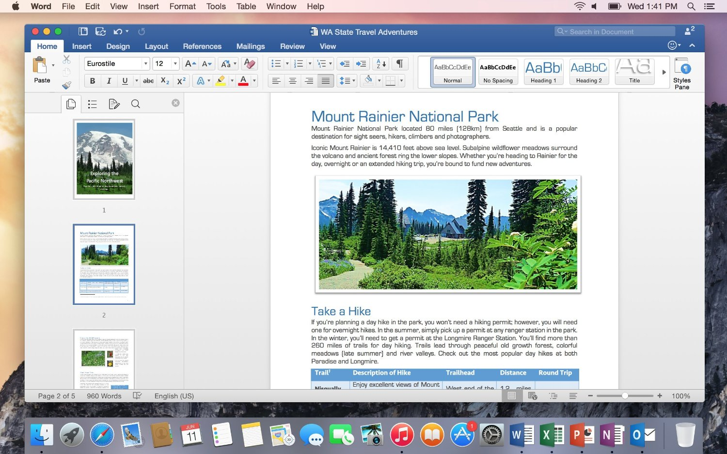 Microsoft Office Home and Business 2016 for Mac - 1 User (W6F-00529 ...