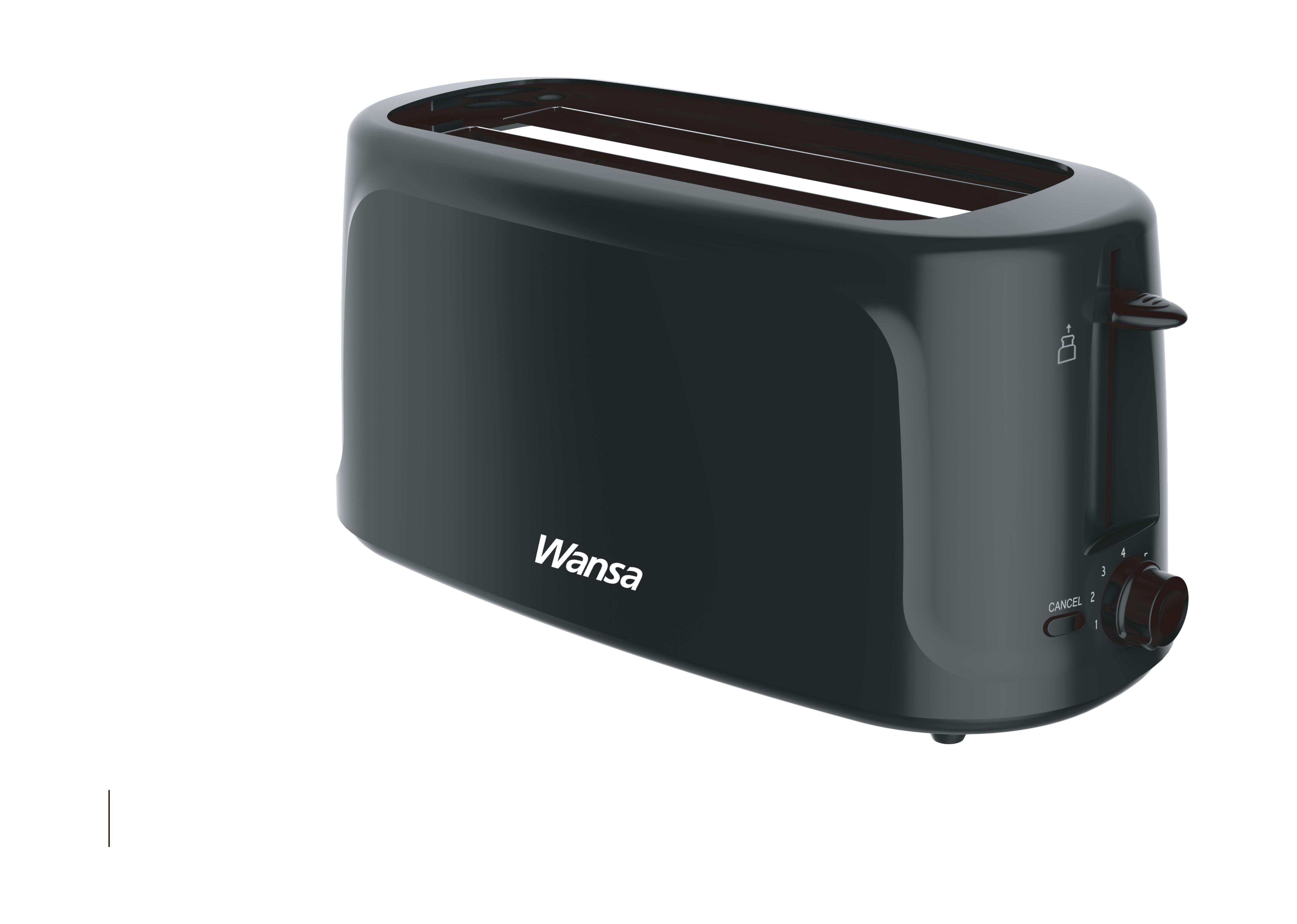 oven decker stainless walmart toaster slice com ip black steel