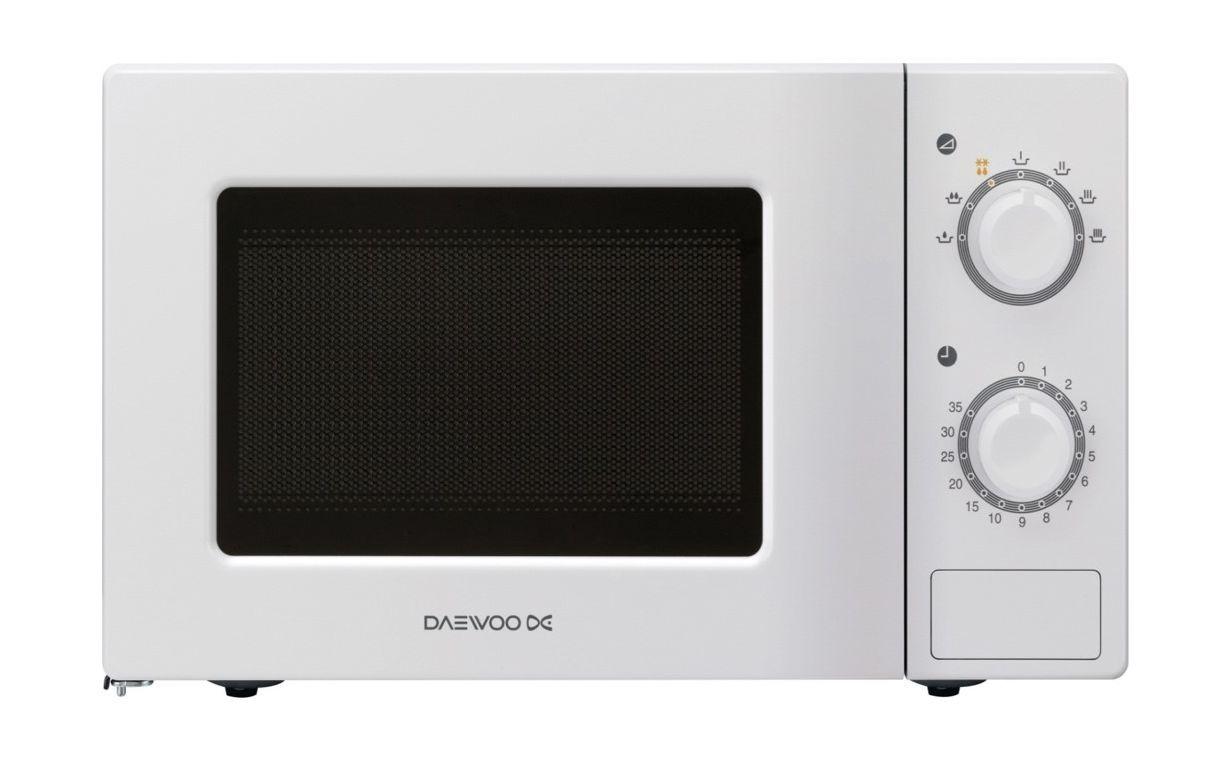 Daewoo 20L Microwave Oven (KOR-6L77) - White | Xcite Alghanim ...