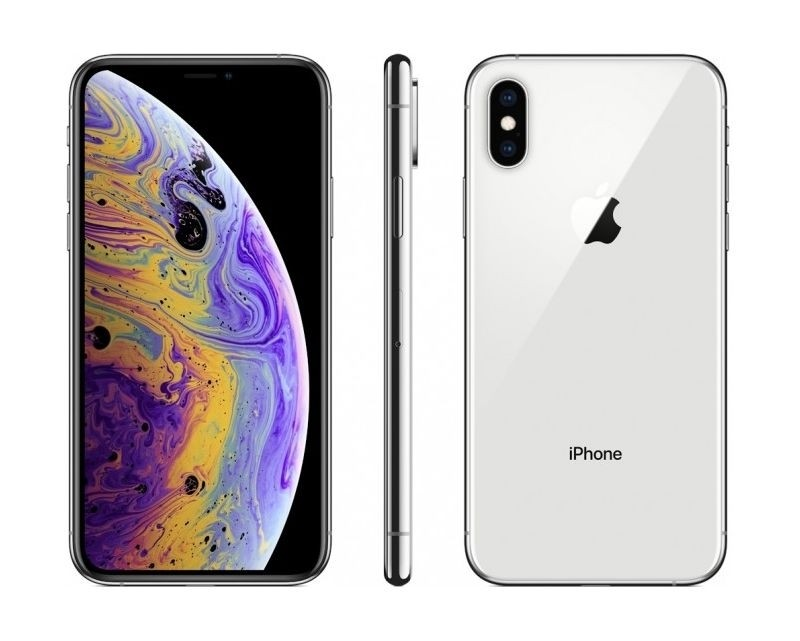 Apple Iphone Xs Max 64gb Esim Dual Sim Phone Silver