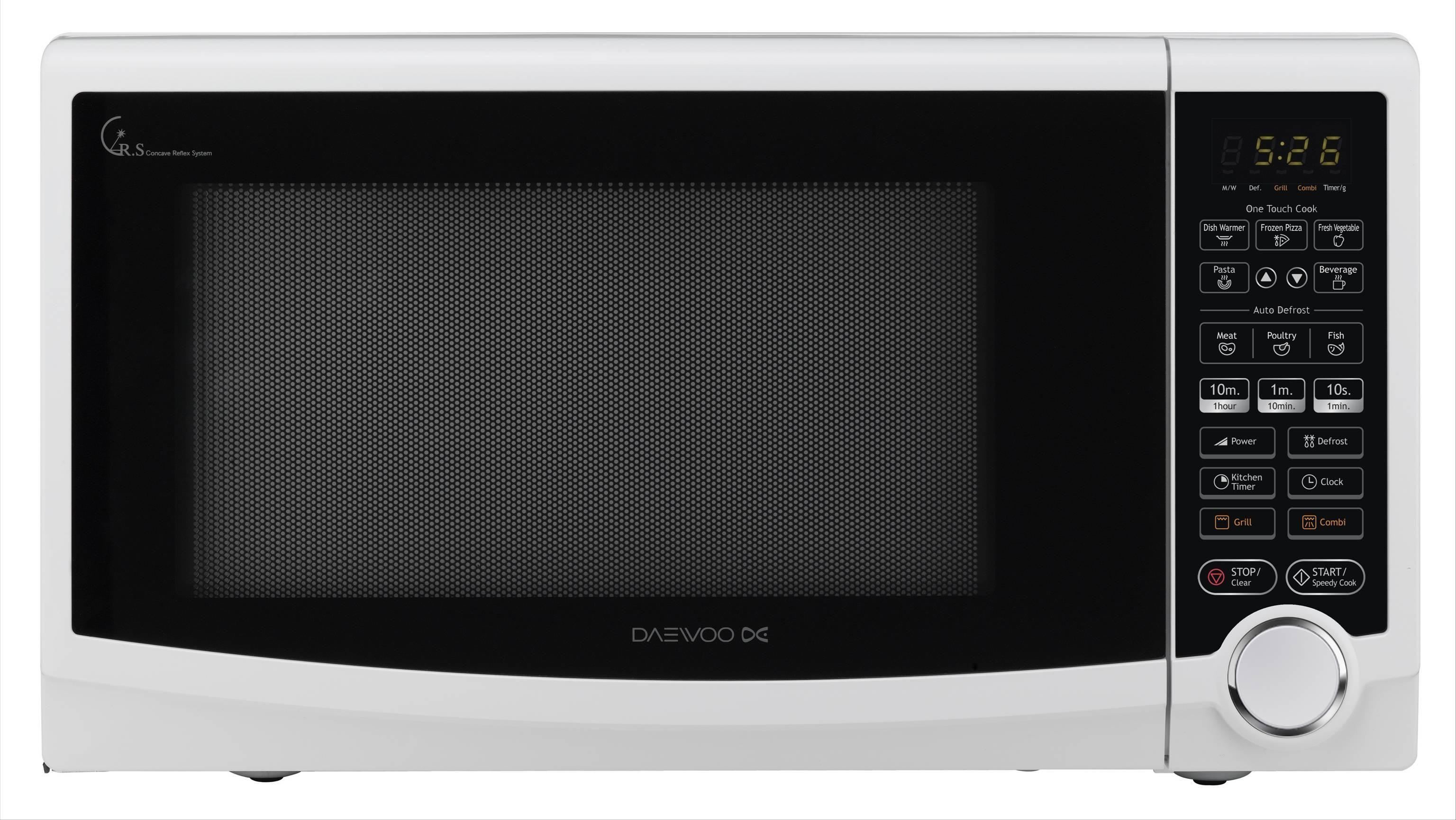 Daewoo Grill Microwave Kog188h 50 Litres White
