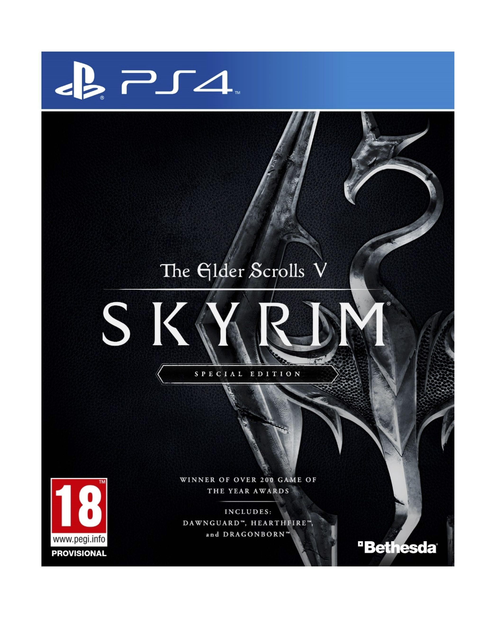 the elder scrolls v skyrim special edition ps4 game xcite alghanim electronics best. Black Bedroom Furniture Sets. Home Design Ideas