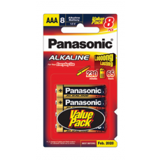 Panasonic LR03T/8B (8+4) AAA Size Battery