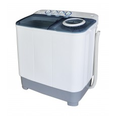 Wansa Gold Twin Tub Washer 12 kg - White/Blue (WGTT-1204BLWHT-C.1)