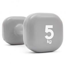 Reebok 5 KG Fixed Weight Dumbbell (RAWT-11155) - Black