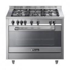 Tecnogas 100x60 cm 5-Burners Floor Standing Gas Cooker (P1X16G5VC)