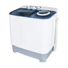 Wansa Gold WGTT603-WHTBLU-C.10 Twin Tub Washer 6kg - White/Blue
