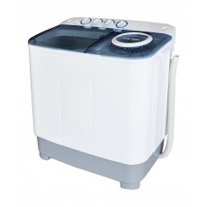 Wansa Gold WGTT804-WHTBLU-C.10 Twin Tub Washer 8kg - White/Blue
