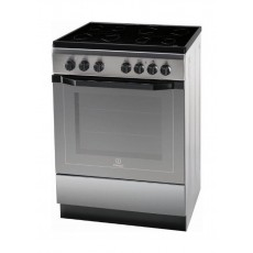 Indesit 60x60cm 4-Burners Free Standing Electric Cooker (I6VV2A(X)/EX)