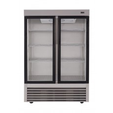 Wansa 34 Cft. Window Refrigerator (2GDAS) – Stainless Steel