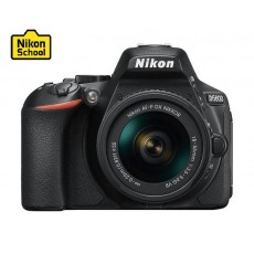 Nikon D5600 DSLR Camera 24.2MP Wifi With DX 18-55mm f/3.5-5.6G VR Lens - Black
