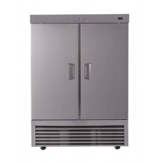 Wansa 34 Cft. Double Door Refrigerator (2DARS) - Stainless Steel