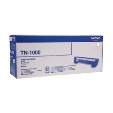 BROTHER Toner TN1000 for Laserjet Printing 1000 Page Yield - Black (Single Colour Pack)