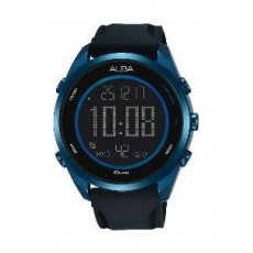 Alba Gents Sport Digital Rubber Watch (A5A007X1) - Black