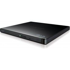 LG DVD Burner and Drive with M-Disc Support - Black - GP65NB60