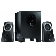 Logitech Z313 Channel 2.1 Wired Speaker System 25 watts - Black