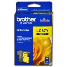 Brother LC67 Ink Cartridge - Yellow