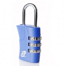 American Tourister ATR 3 Dial Combination Lock - Blue