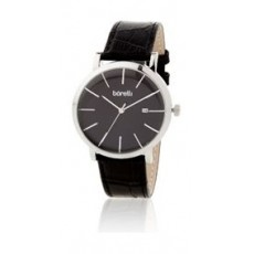 Borelli Quartz 40mm Analog Gent's Leather Watch - 20047674
