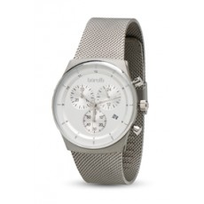Borelli 40mm Gent's Chronograph Metal Watch (20050057) - Silver