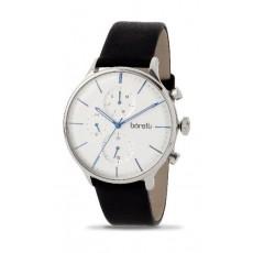Borelli Quartz 42mm Chronograph Gent's Leather Watch - 20050664