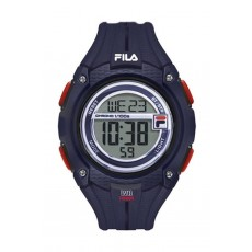 Fila 47mm Gent's Digital Rubber Sports Watch (38132002) - Navy Blue
