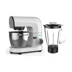 Wansa 1000W 4.5L Kitchen Machine With Blender Jar (LW-6833) – White