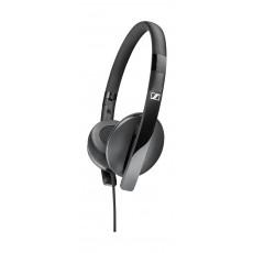 Sennheiser HD 2.20s On-ear Stereo Wired Headphones with Microphone - Black