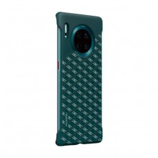 Huawei Mate 30 Pro Stylish Texture Case - Emerald Green