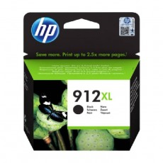 HP Original Ink 912XL for InkJet Printer - Black
