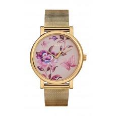 Timex 38mm Casual Ladies Analog Metal Watch (TW2U19400) - Gold