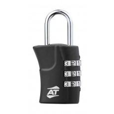 American Tourister Tsa 3 Dial Combination Lock (Z19X09005) - Black