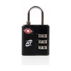 American Tourister Tsa 3 Dial Combination Lock - Black