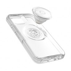 Otterbox iPhone 12 mini Otter  Case with Pop Symmetry Grip - Clear