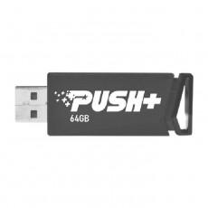Patriot 64GB Push+ USB 3.2 Gen 1 Flash Drive