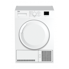 Beko 7KG Front Loading Freestanding Condenser Dryer (DTGC7000W) - White