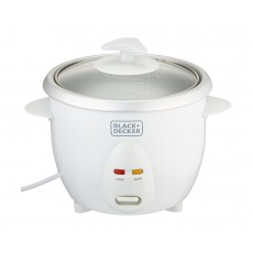 Black & Decker 300W 0.6 Liter Rice Cooker - White (RC650-B5)