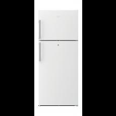 Beko 17 Cft. Top Mount Refrigerator (RDNE480M21W) - White