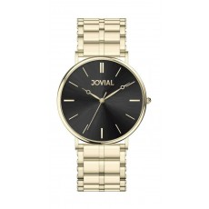 Jovial Casual Analog Quartz Gents Metal Watch (9162-GGMQ-03) - Gold