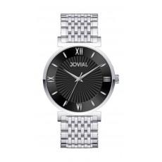 Jovial Casual Analog Quartz Gents Metal Watch (9163-GSMQ-03) - Silver