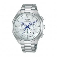 Alba 42mm Men's Chrono Watch (AT3G79X1) in Kuwait | Buy Online – Xcite
