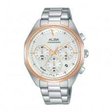 Alba 38mm Women's Chrono Watch (AT3G90X1) in Kuwait | Buy Online – Xcite
