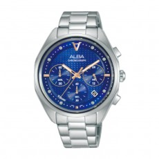 Alba 38mm Women's Chrono Watch (AT3G91X1) in Kuwait | Buy Online – Xcite