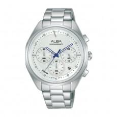 Alba 38mm Women's Chrono Watch (AT3G93X1) in Kuwait | Buy Online – Xcite