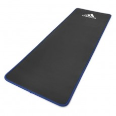 Adidas logo mat black blue training yoga comfortable buy in xcite Kuwait